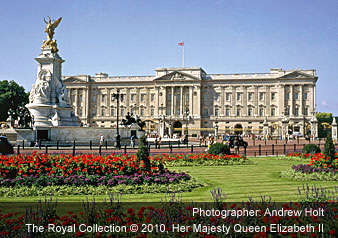 Buckingham Palace - Photographer: Andrew Holt The Royal Collection © 2008, Her Majesty Queen Elizabeth II