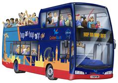 Hop on Hop off Bus Tour - 48 Hour Ticket + 24 Hours Free